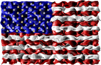Graphic of the United States flag