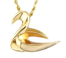 Photo of the Lady Swan pendant